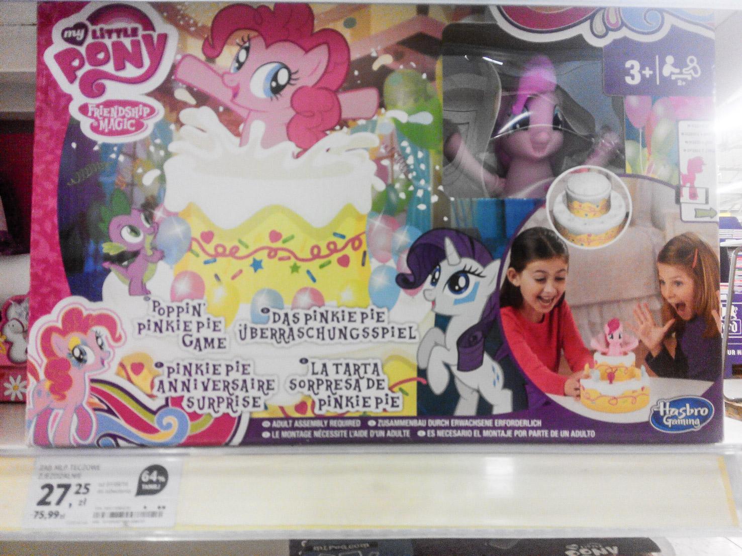 TESCO - My Little Pony Poppin' Pinkie Pie