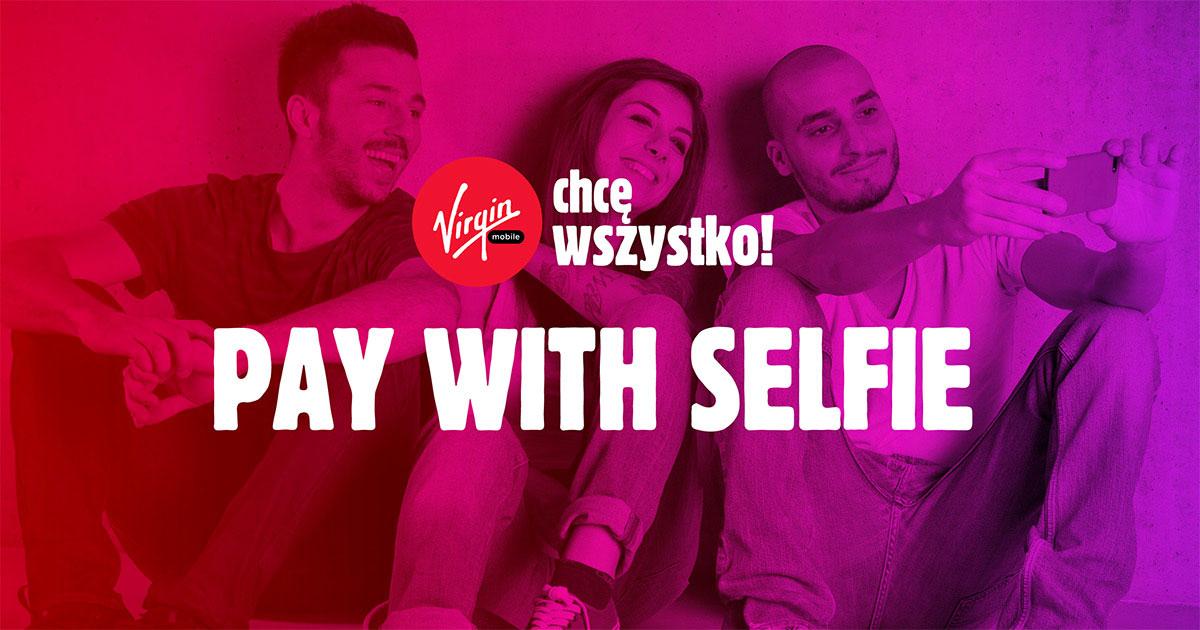 Pay with Selfie - Rabaty i gratisy za zdjęcie (Spotify Premium, darmowe soki, pieniądze do wykorzystania w restauracjach czy u fryzjera) @ Virgin