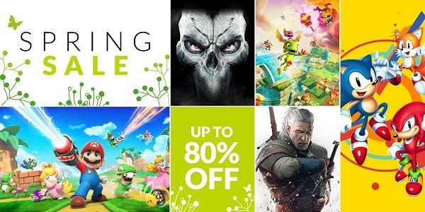 Nintendo Switch eShop SPRING SALE do -93% + AKTUALIZACJA 09.04