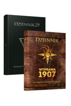 Pakiet interaktywnych gier książkowych: Dziennik 29, Dziennik. Wyprawa 1907