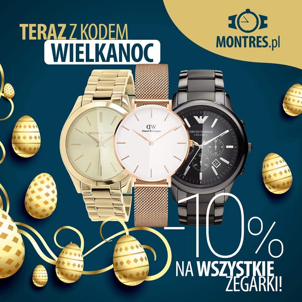Zniżka na wszystkie zegarki różnych marek@montres.pl