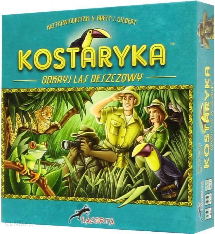 Kostaryka - gra planszowa