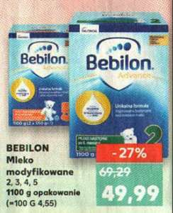 Bebilon Advance mleko 1,1kg Kaufland