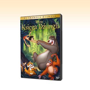 Król Lew, Mała Syrenka, Księga Dżungli i inne po 9,99 zł (DVD) @ BIEDRONKA