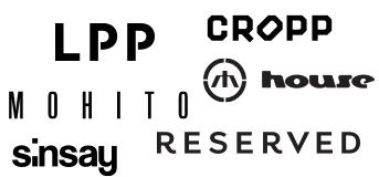 LPP, wyprzedaż nowej kolekcji: cropp 30% zniżki, house, reserved, mohito, sinsay 25% zniżki