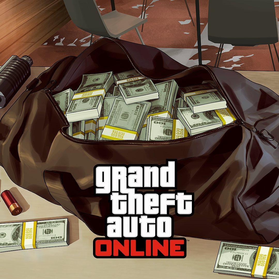 500.000 $ W GTA ONLINE za zalogowanie do gry