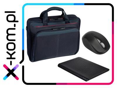 Zestaw Targus: torba + podstawka chłodząca + mysz za 59zł + darmowa dostawa @ Allegro