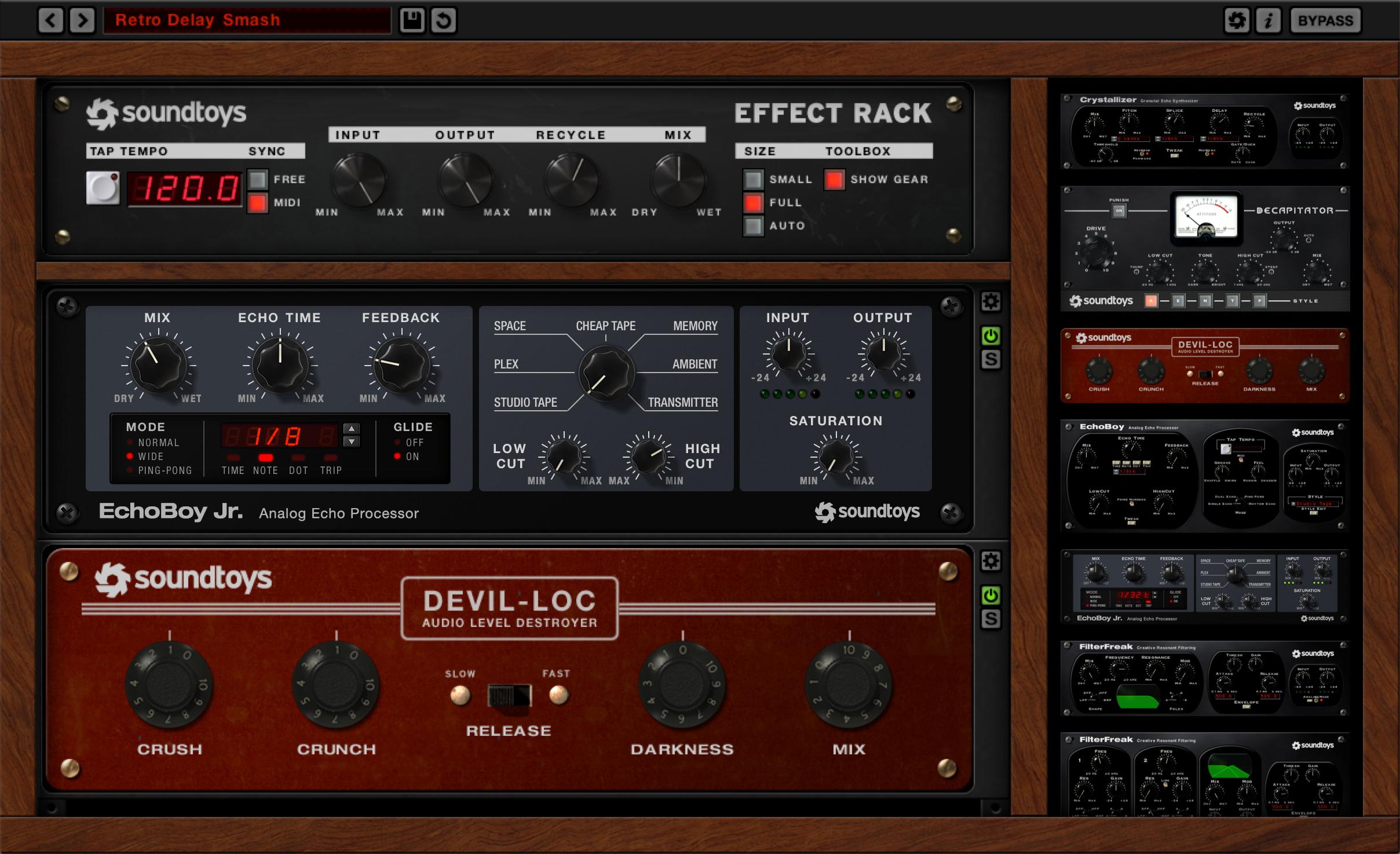 Soundtoys Effect Racks do poeksperymentowania #zostańwdomu