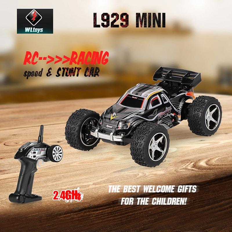 WLtoys L929 Mini - samochód elektryczny,zdalnie sterowany RC(pasmo 2,4GHz)