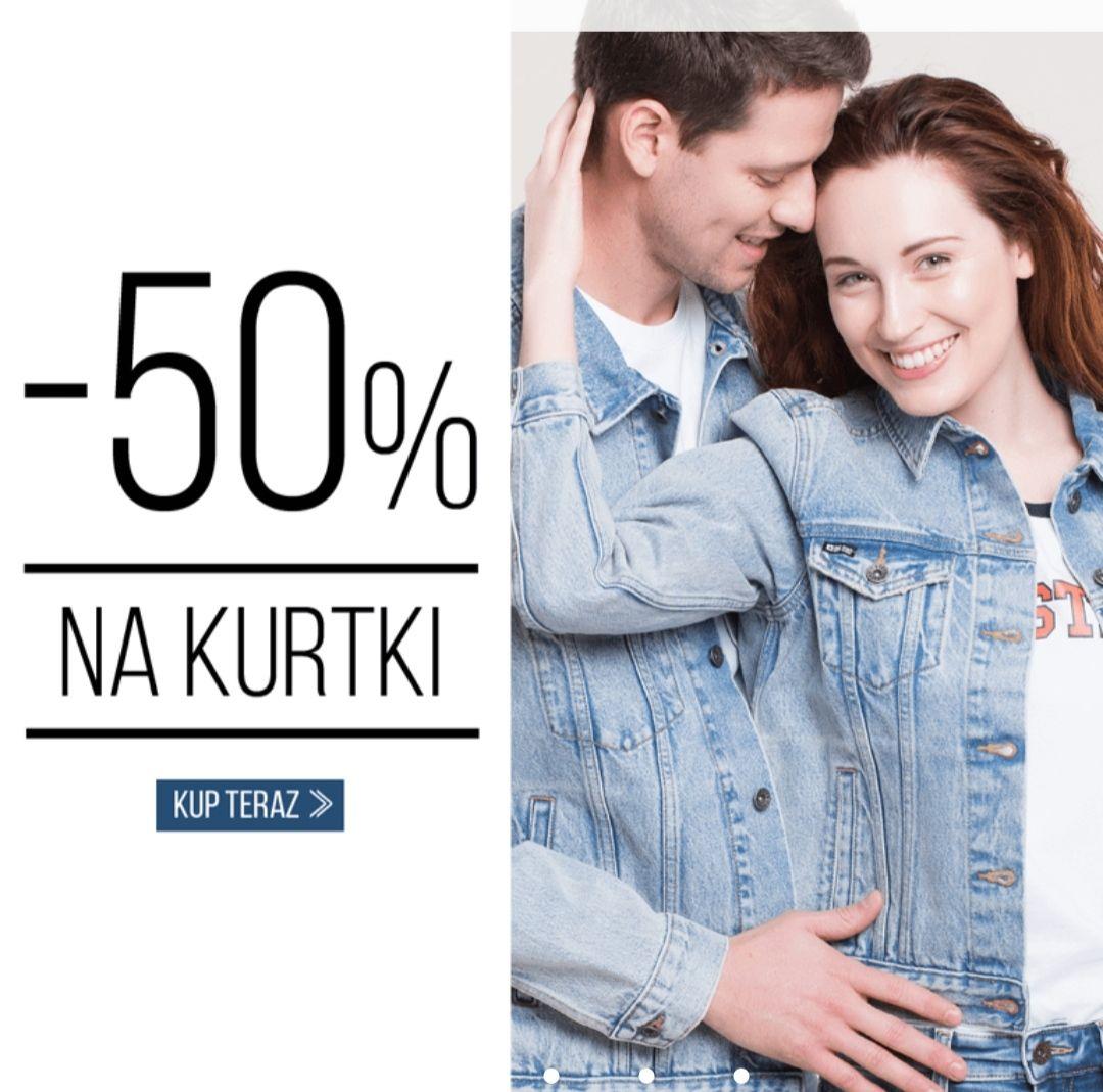 -50% na WSZYSTKIE kurtki w bigstar
