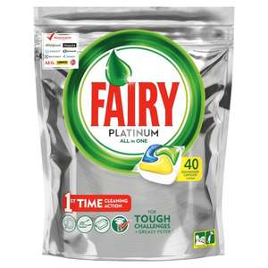 Fairy Tabletki Do Zmywarki Platinum 5x40=200 szt