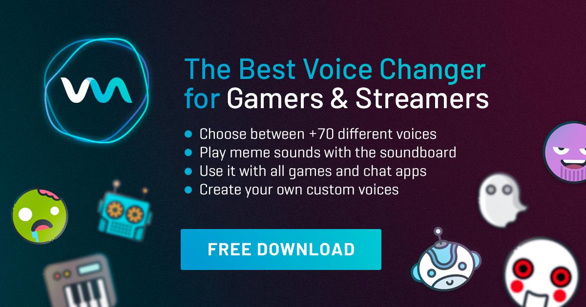 Licencja dożywotnia Voicemod Pro dla osób, które już miały zainstalowaną aplikację - Soundboard i modulator głosu