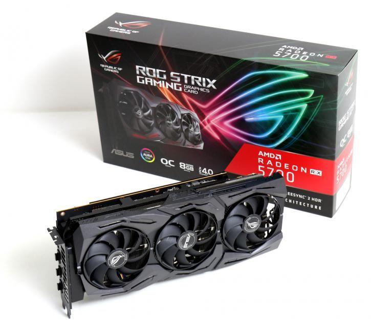 ASUS Radeon RX 5700 ROG STRIX OC 8G