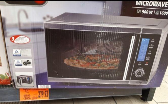 Kuchenka mikrofalowa z grillem Kaufland