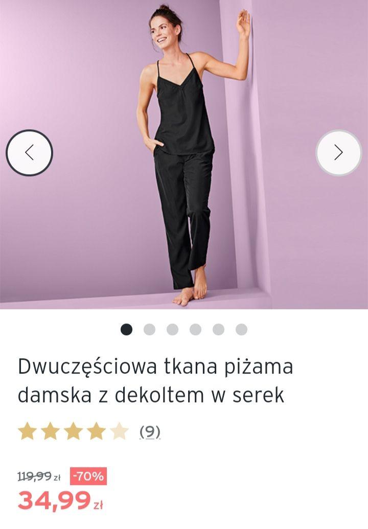 Wiosenna WYPRZEDAŻ do -70% : Tchibo: damska piżama ; bluza z kapturem