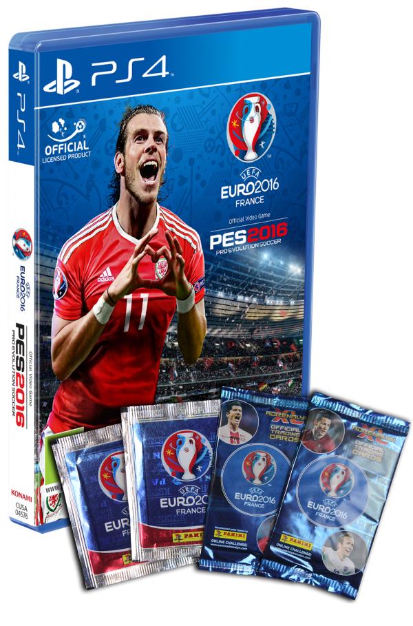 PES 2016 + UEFA EURO 2016 na PS4