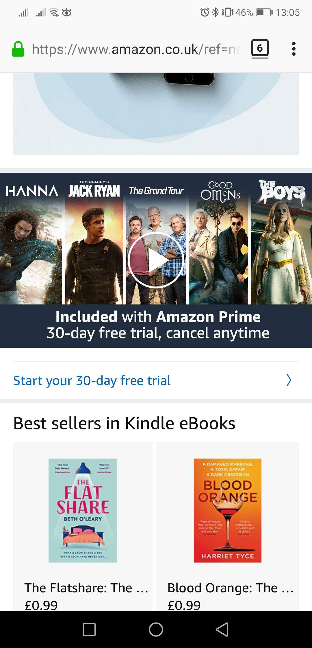 Amazon prime znowu za darmo na 30 dni!