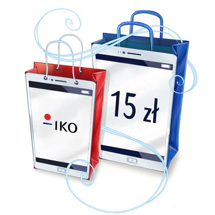 15PLN za aktywację aplikacji mobilnej IKO @ PKO BP