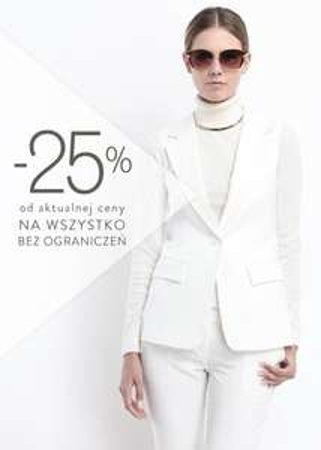 25% rabatu na wszystko TYLKO DZIŚ @ Top Secret