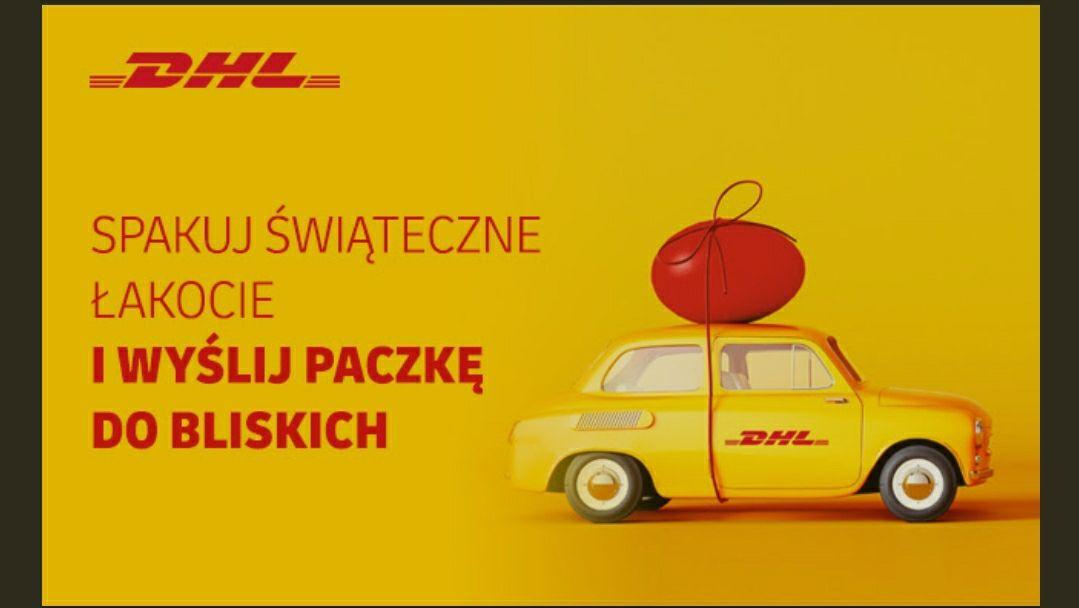 DHL -20% na paczki krajowe i zagraniczne (UE) DHL