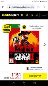 Red Dead Redemption 2 Gra XBOX ONE Media expert