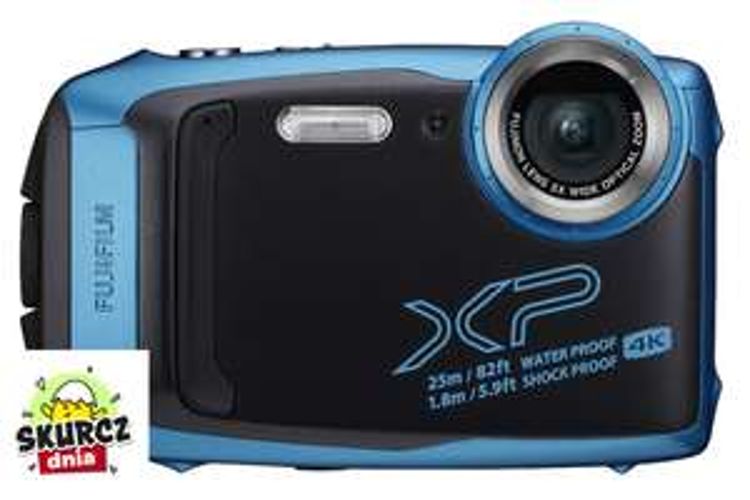 Aparat Fujifilm FinePix XP140 sky blue