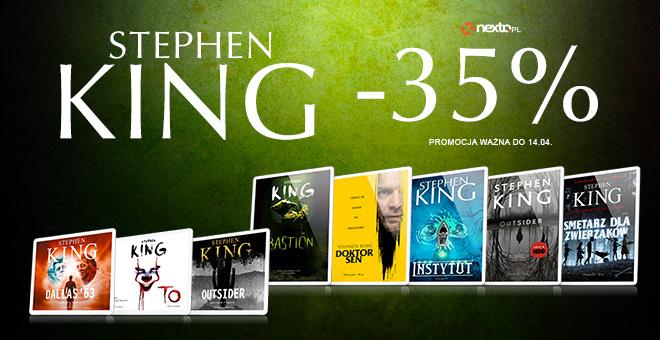-35% na e-booki i audiobooki Stephena Kinga Nexto.pl (z kontem premium do -61%)