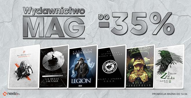Do -35% na e-booki wydawnictwa MAG w Nexto.pl (z kontem premium do -61%) ponad 230 pozycji