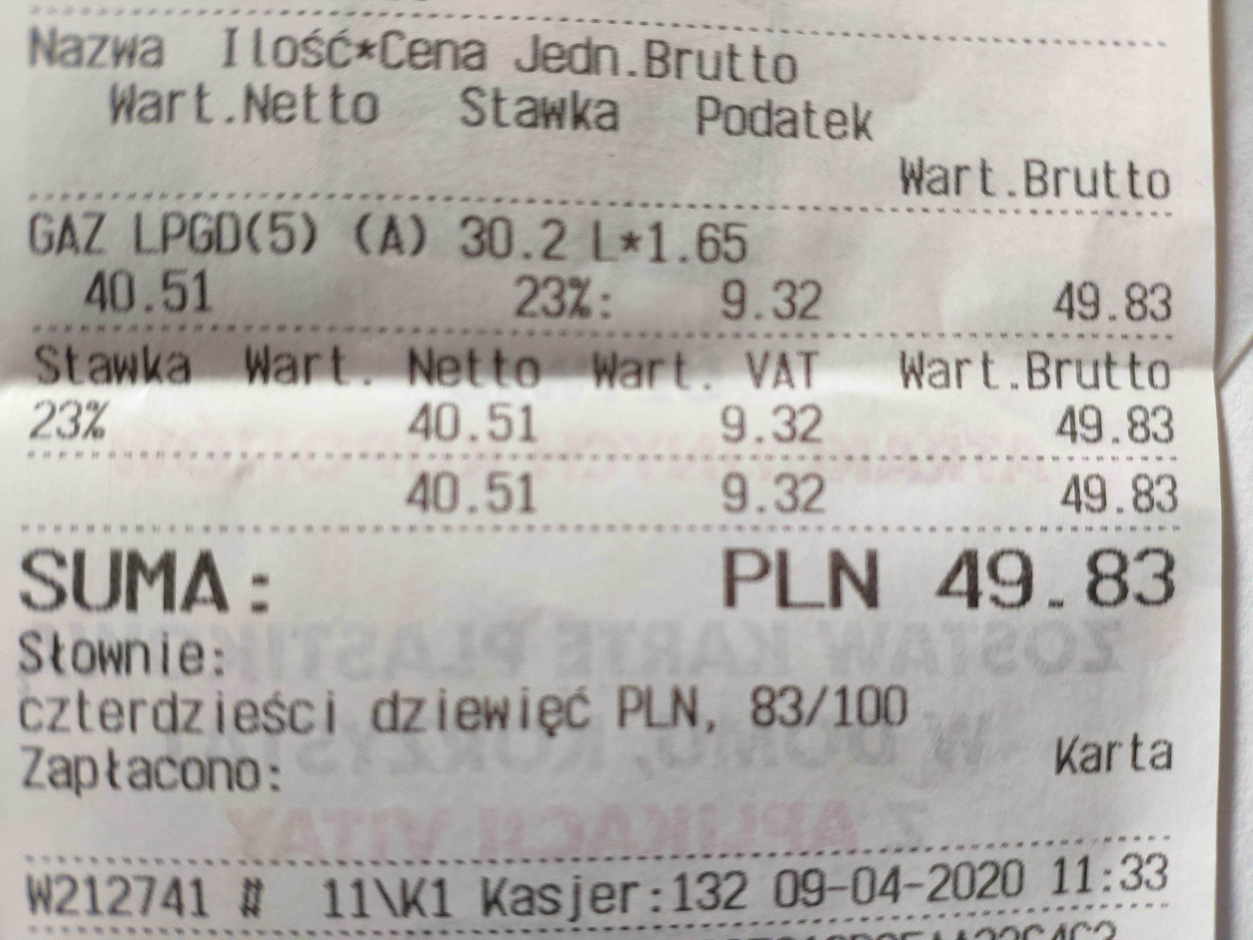 LPG 1,65 zł Łódź Strykowska 38
