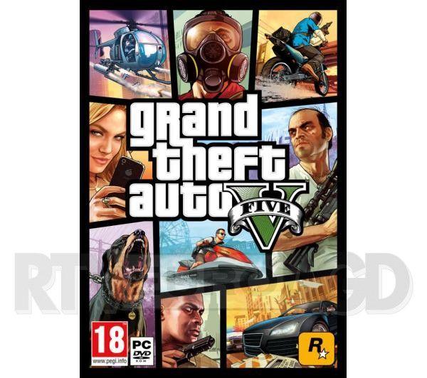 Grand Theft Auto V na PC, DVD