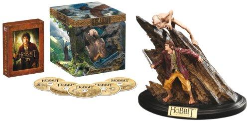 Hobbit: Niezwykła Podróż Blu-Ray (2D + 3D + figurka) za ok. 130zł @ Amazon.de