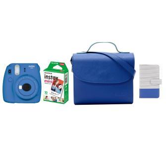 Aparat fotograficzny Fujifilm Instax Mini 9 + wkłady + torebka + album