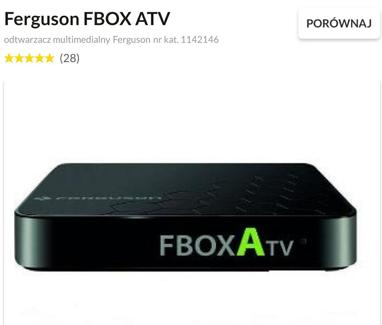 Ferguson Fbox ATV - 4K HDR TV BOX (HD music)