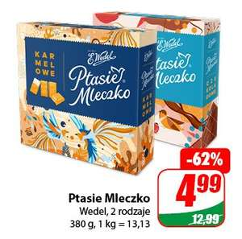 Ptasie Mleczko Wedel 380g - DINO