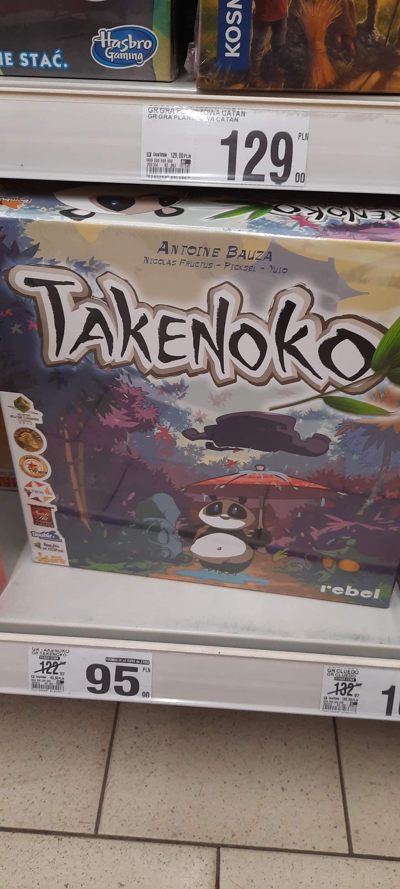 Gra planszowa Takenoko Rebel @ B1 Legnica