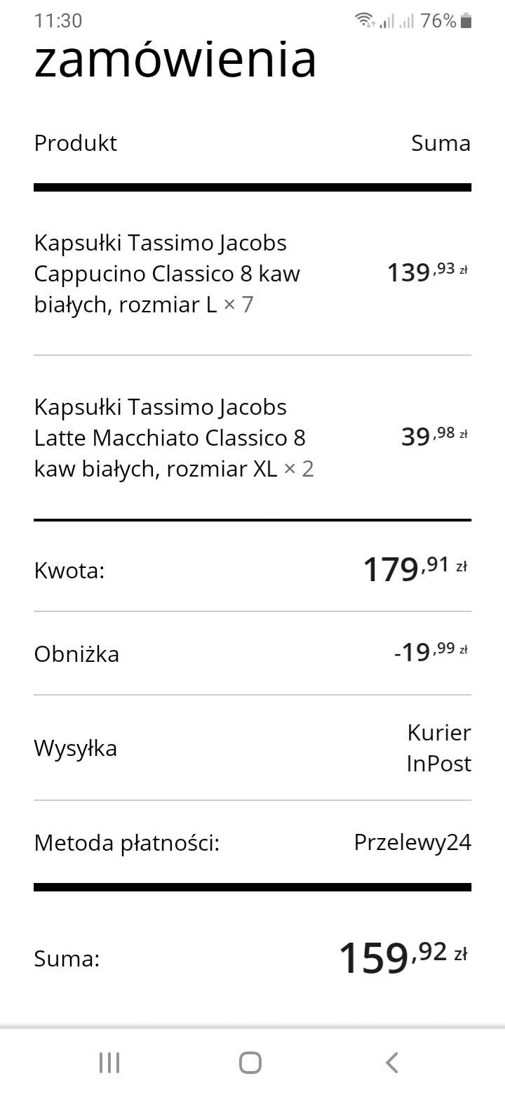 Kapsułki Tassimo na Tassimo.pl
