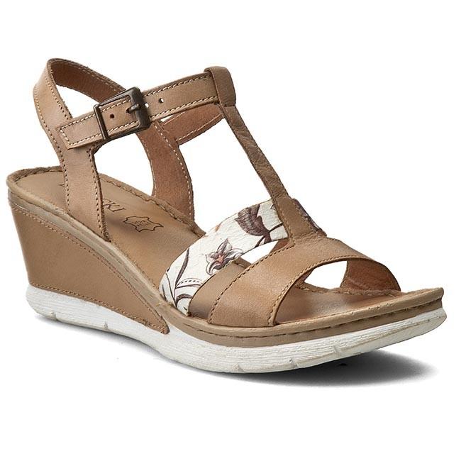 Skórzane sandały Lasocki