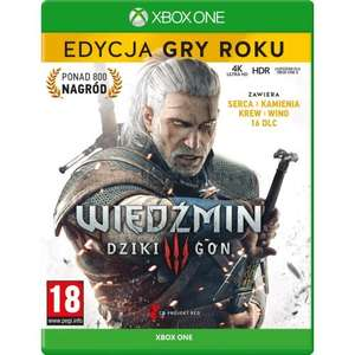 Wiedźmin 3: Dziki Gon - Edycja Gry Roku Gra XBOX ONE/PS4