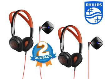 Słuchawki Philips SHQ6300 Actionfit - dwupak @iBOOD