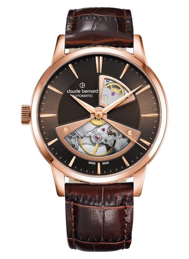 Zegarek Claude Bernard 85017 357R BRIR2 szafir