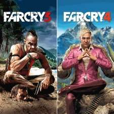 FAR CRY 3 + FAR CRY 4 za 59zł (PS3) @ Playstation Store