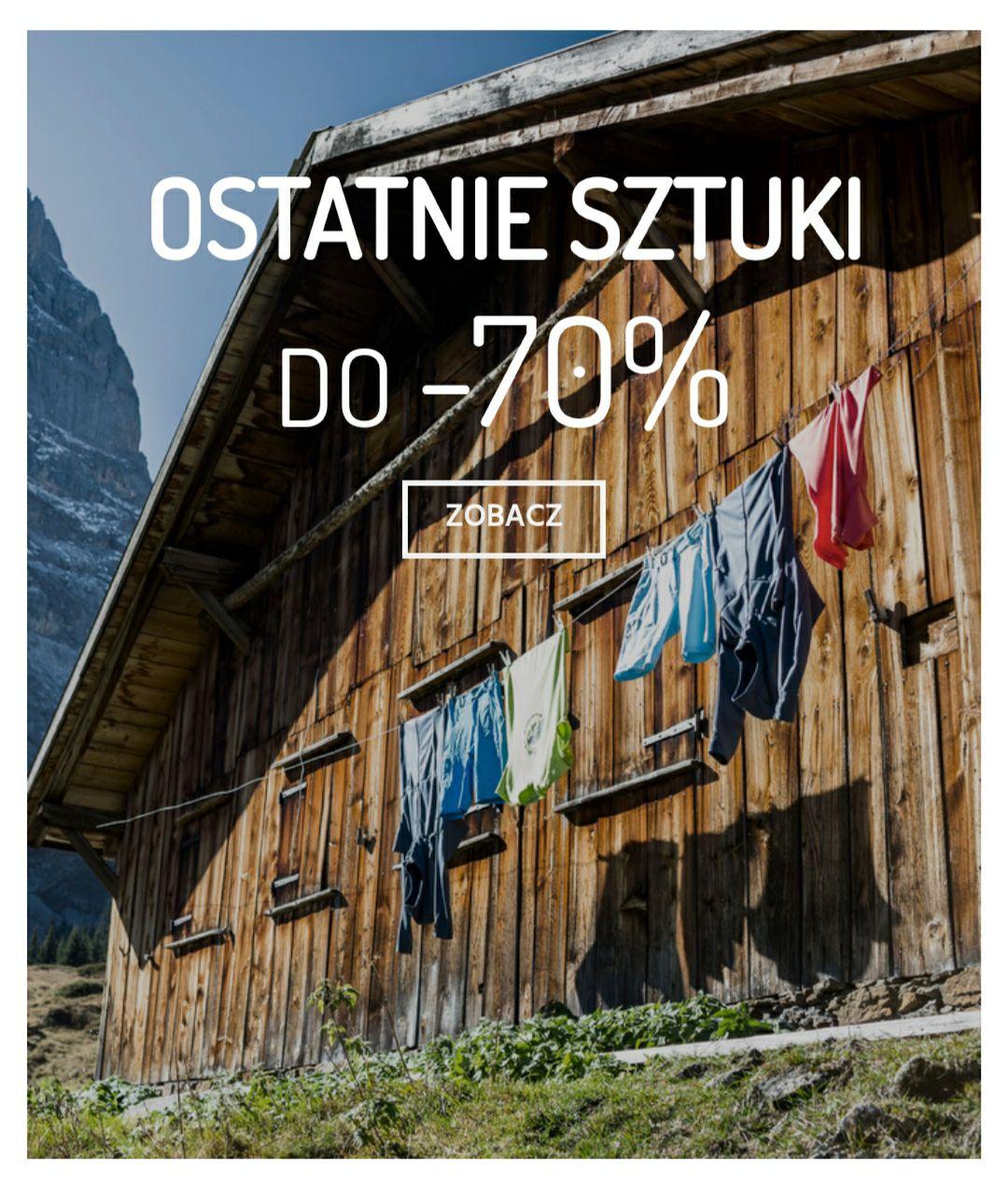 MAMMUT OSTATNIE SZTUKI DO -70%