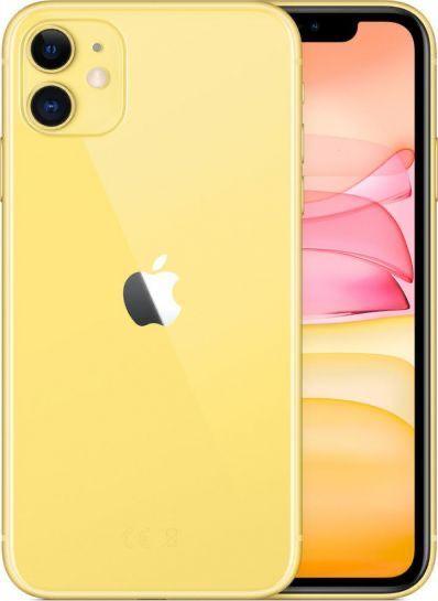 Smartfon Apple iPhone 11 4/64GB Dual SIM Żółty (MWLW2PM/A)