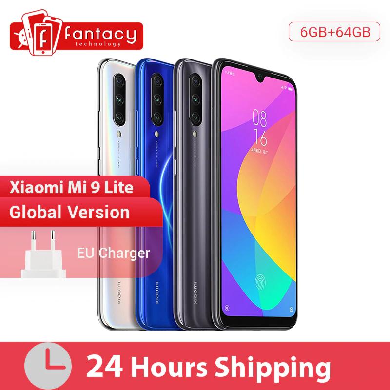 Xiaomi Mi 9 Lite Global 6/64 GB - wysyłka z Polski (niebieski, NFC)