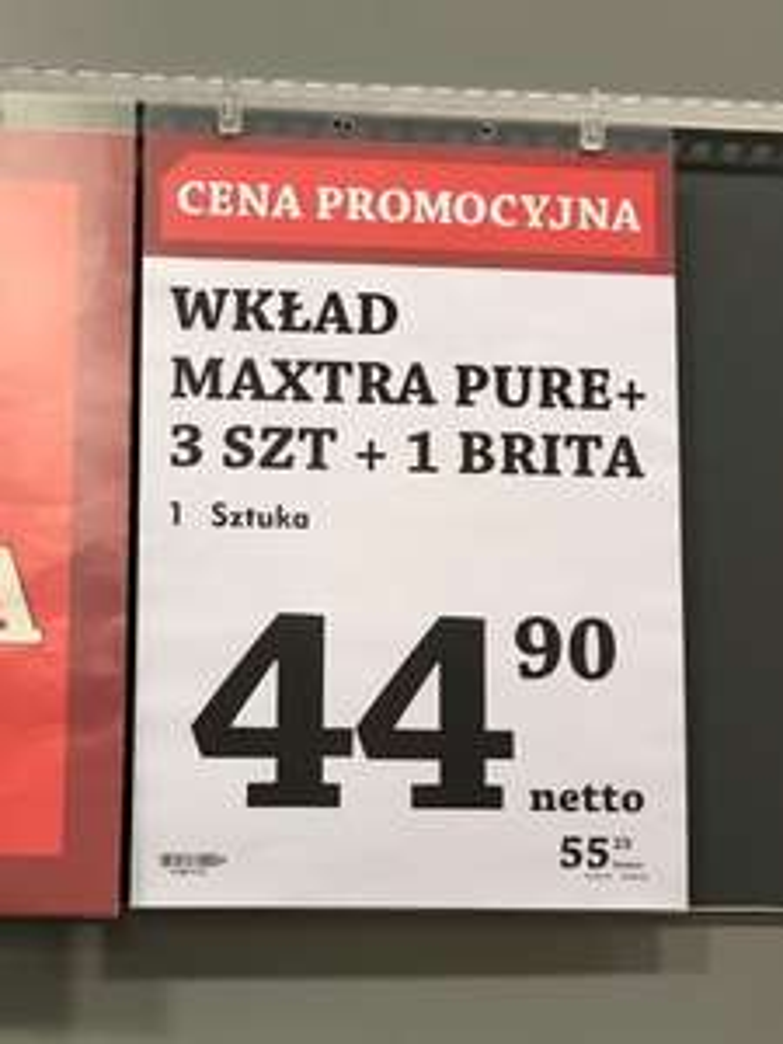 Filtr Brita Maxtra Pure 3+1 SELGROS