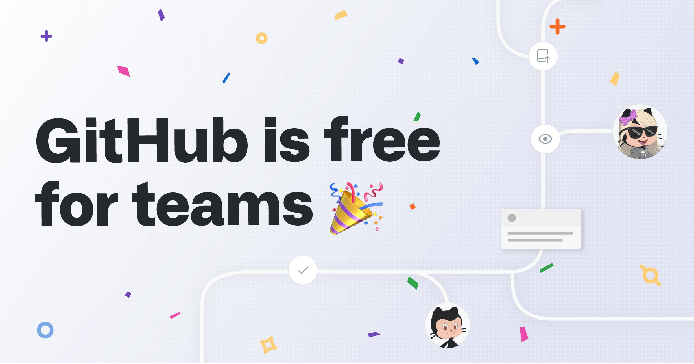 Nielimitowane prywatne repozytoria w darmowym planie GitHub