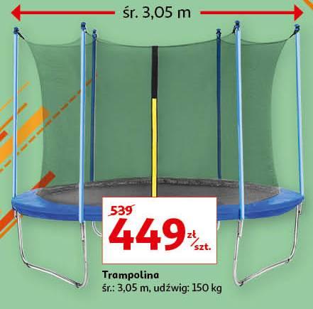 Trampolina 3,05 m - dobra cena w czasach zarazy. Raty 0%.