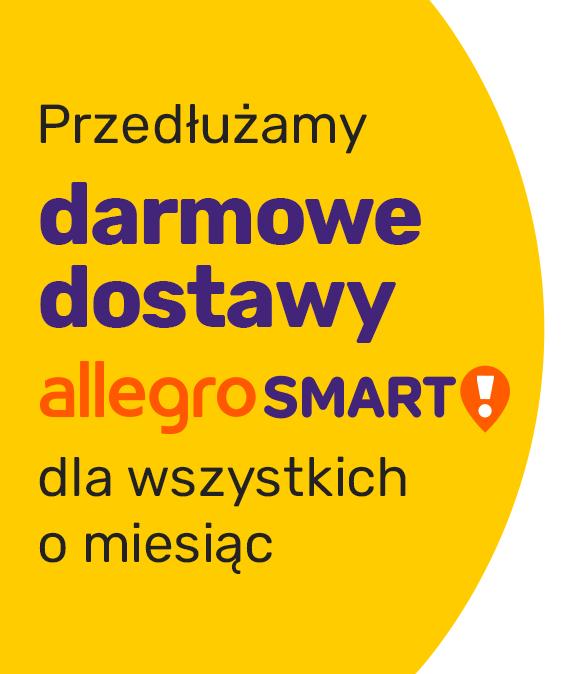 Allegro Smart za darmo przez kolejny miesiąc!