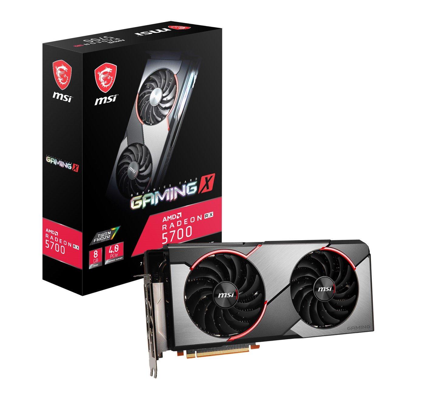 AMD MSI Radeon RX 5700 Gaming X 8GB + GRY od AMD