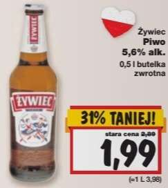 Piwo ŻYWIEC 0,5l